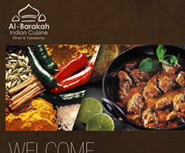 Al-Barakah Indian Restaurant Website Design and Develop