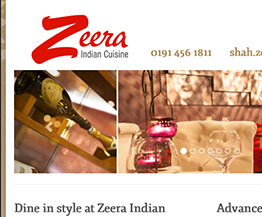 Zeera Website Design and Develop